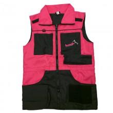 AKCIÓS munkamellény pink/fekete (099)