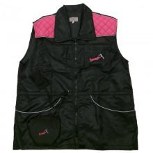 AKCIÓS munkamellény bonak fekete/pink (099-B)