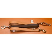 16 mm  width leather short leash (B163011)
