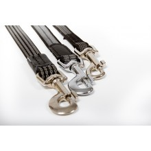20 mm width rubbered textile leash (BT22)