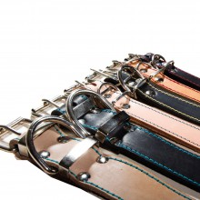 16 mm width leather collar