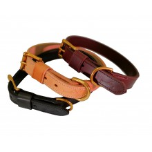 25 mm width extra leather collar