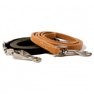 18 mm width leather leash (B18...)